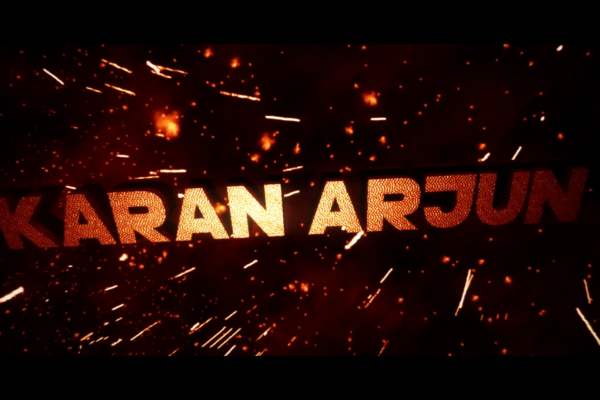 Karan Arjun action web series poster
