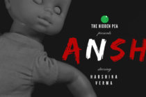 Ansh short horror film poster