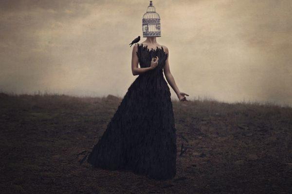 caged girl photo for a scottshak poem