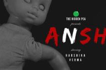 Ansh short horror film poster